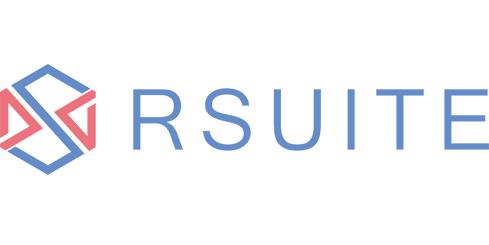 基于 React 的 UI 组件库 RSUITE