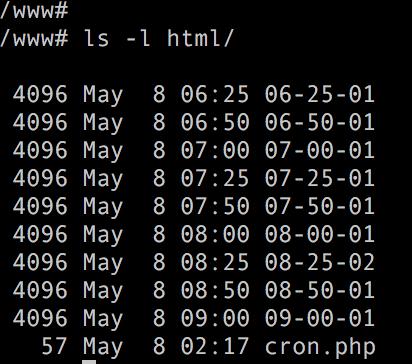 关于crontab中 n分钟执行一次(*/n)的误解...