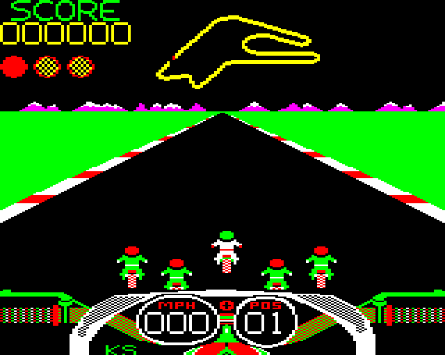 Crazee Rider(BBC Micro)