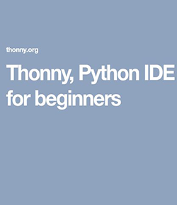 适合初学者的 Python IDE Thonny