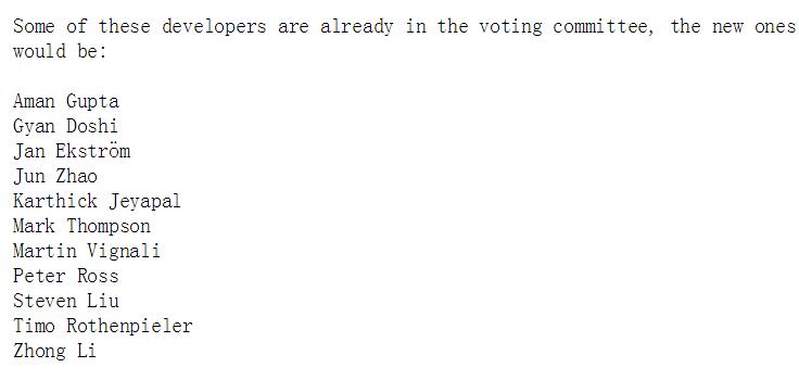 多名中国开发者入选 FFmpeg 决策委员会