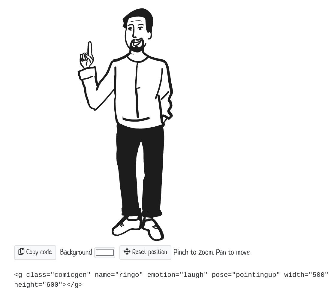 为网页与应用创建漫画 comicgen