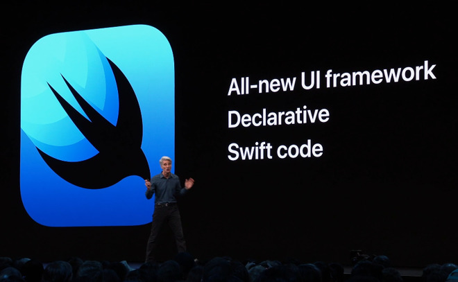 苹果宣布基于 Swift 的全新框架 —— SwiftUI