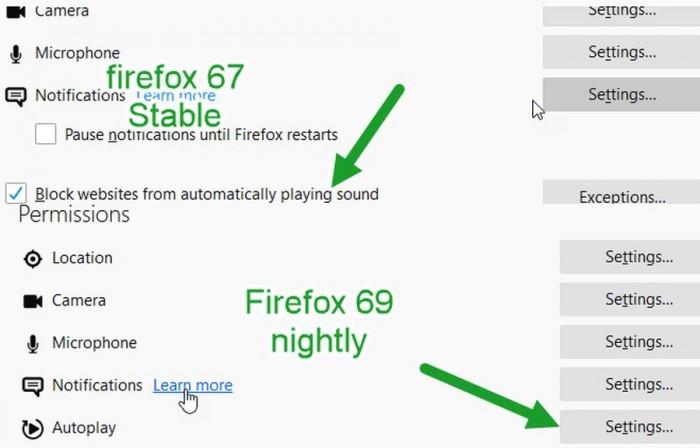 Firefox 69 新功能:可默认同时阻止视频和音频以节省流量