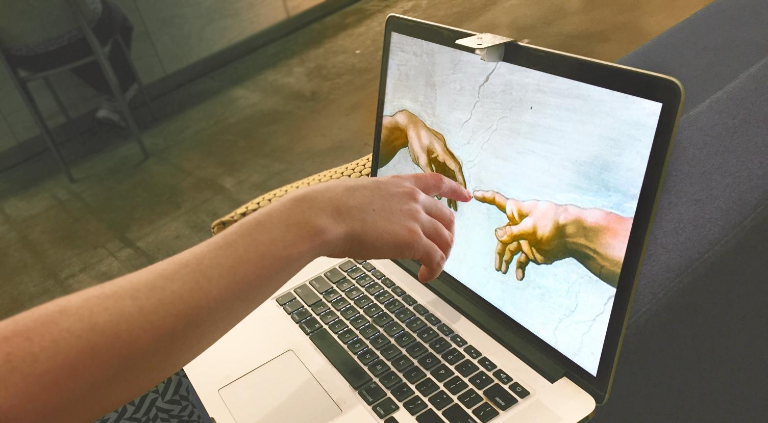 将你的 Mac 笔记本屏幕变成触摸屏 Sistine
