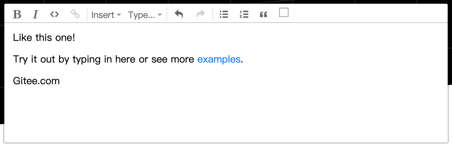 所见即所得 HTML 编辑器 ProseMirror