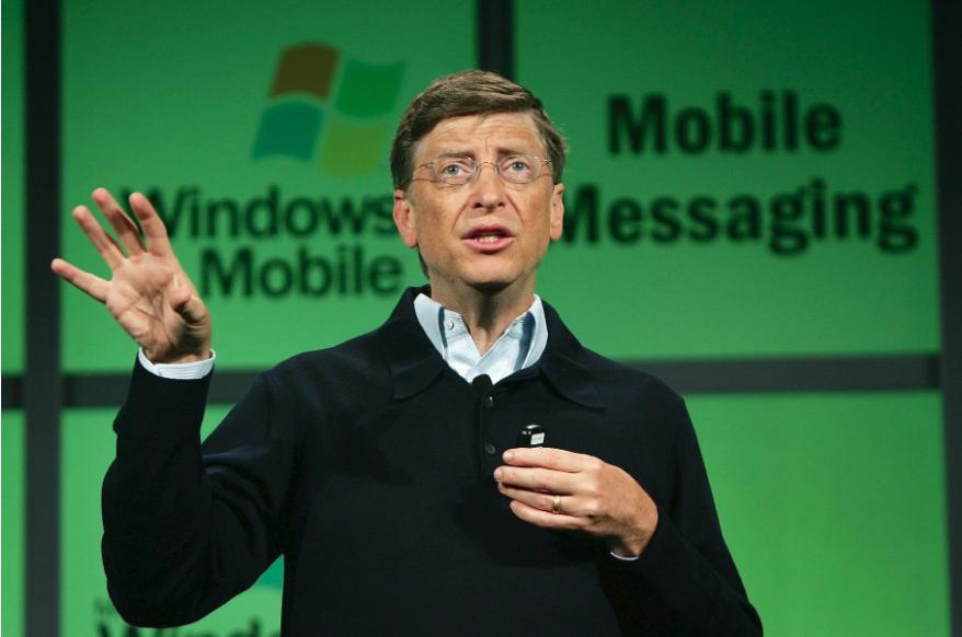 比尔盖茨:反垄断案让我分心,不然微软定能打败安卓