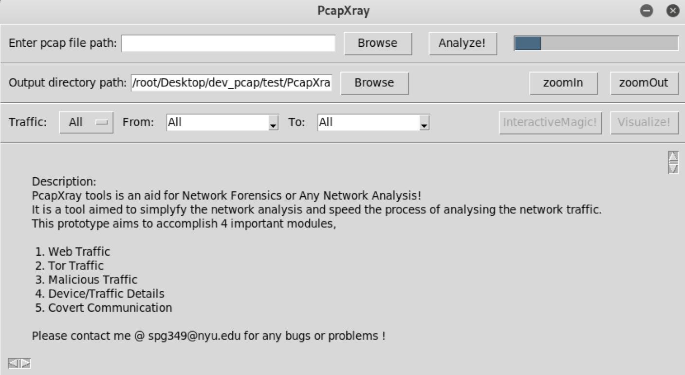 可视化数据包的网络取证工具 PcapXray