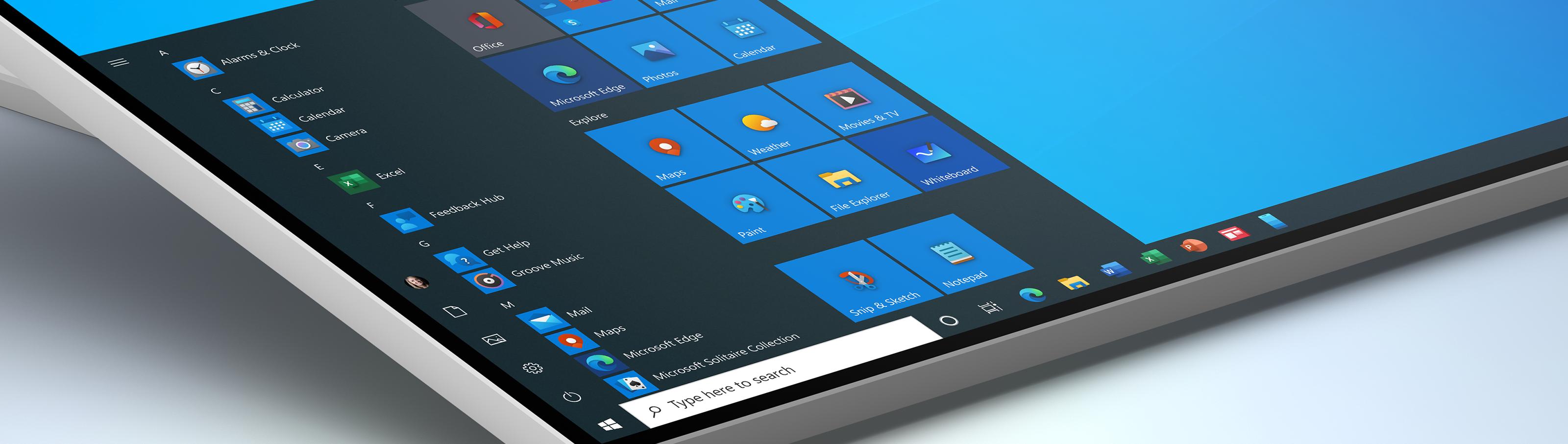 微软推出Windows 10全新系统图标