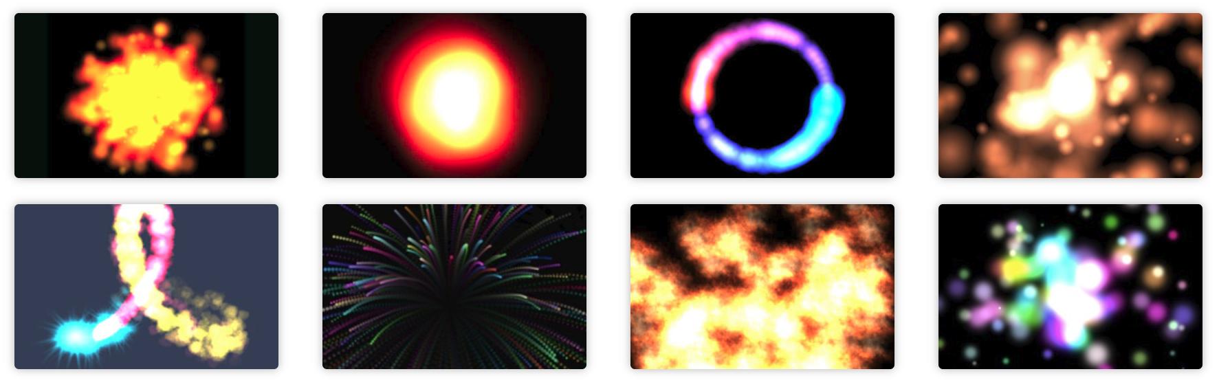 JavaScript 粒子动画库 Proton