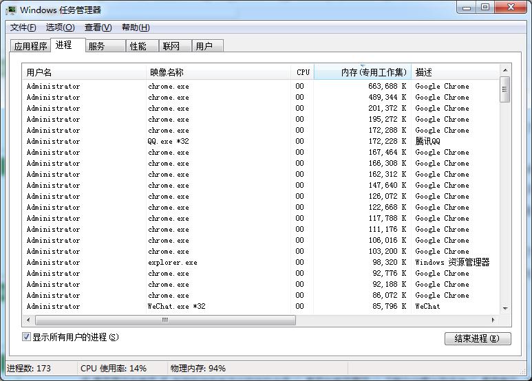 Windows 任务管理器作者:任务管理器可杀死任何进程