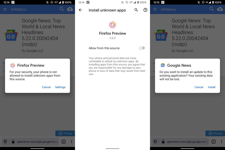 Android 11 安装外部来源应用需要重启 APP插图