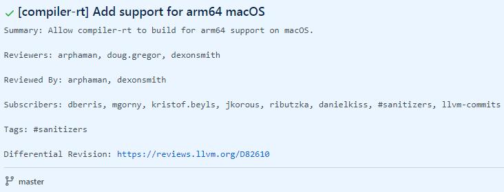 部分开源项目着手支持 macOS ARM64