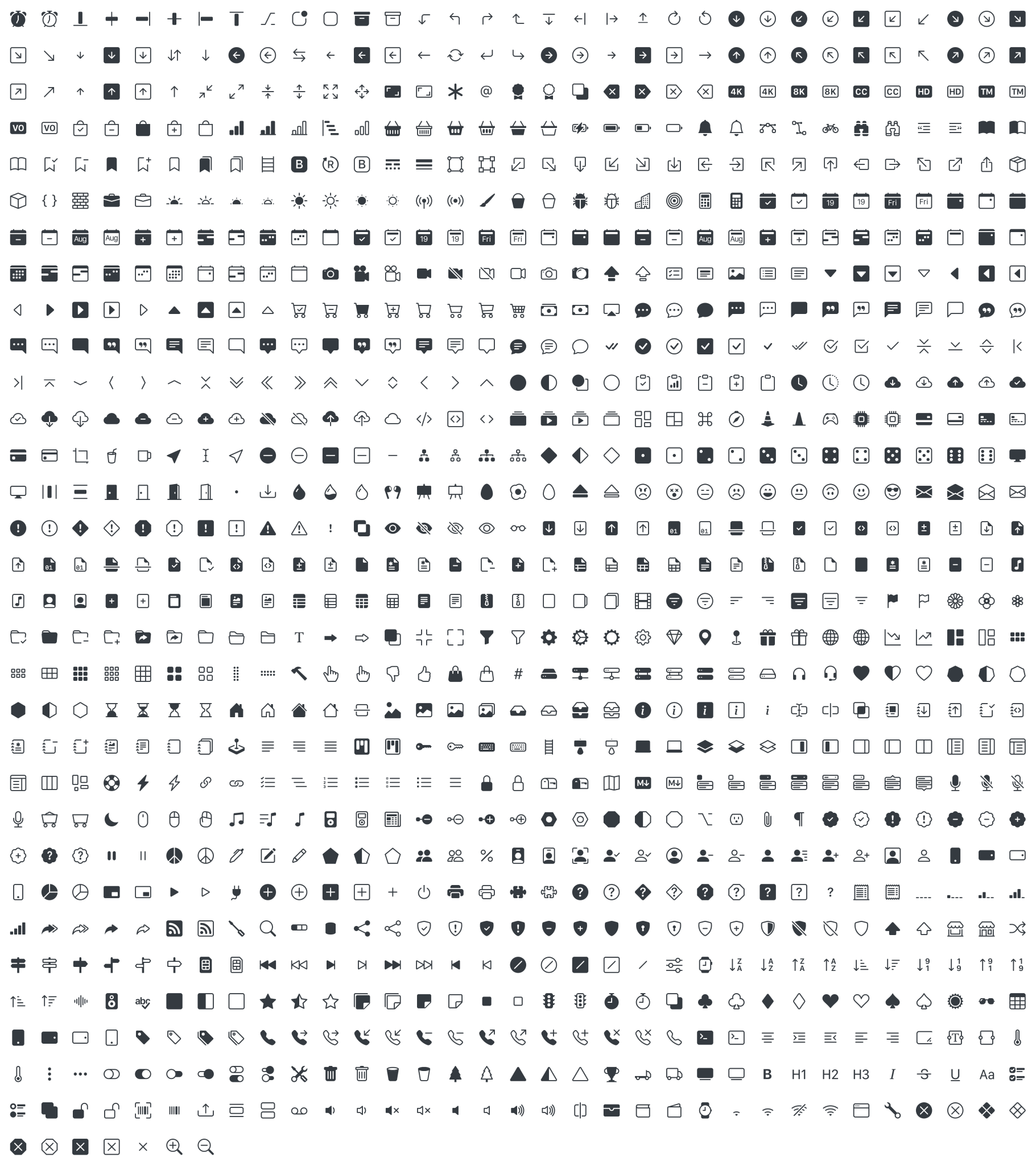 Bootstrap 官方开源 SVG 图标库 Bootstrap Icons