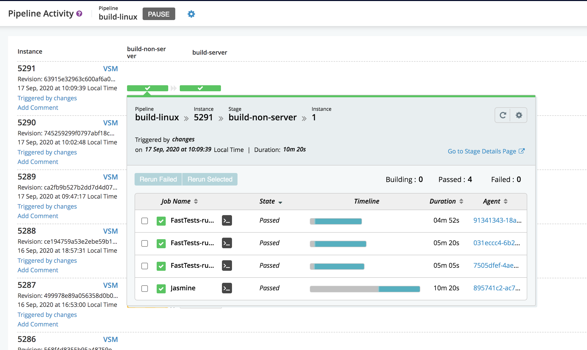 GoCD 20.8.0 发布,持续集成和发布管理系统