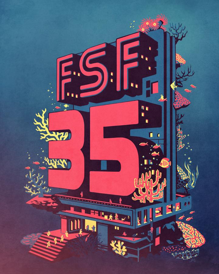 自由软件基金会庆祝成立 35 周年