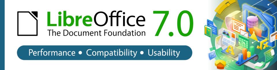 LibreOffice 7.0.2 发布,开源办公套件