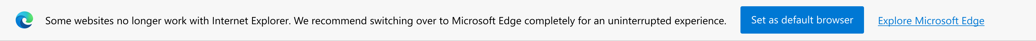 微软将不兼容 IE 的网站重定向至 Edge