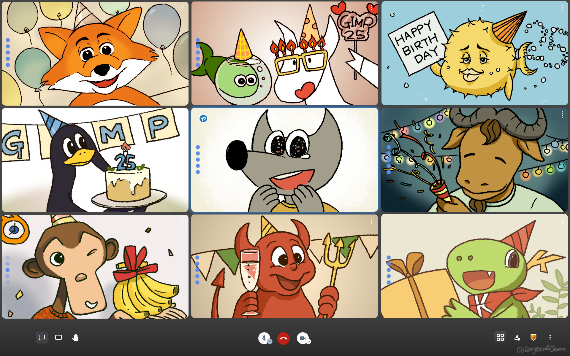 GIMP 诞生 25 周年