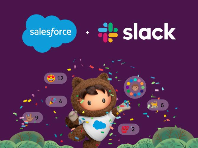 Salesforce 收购 Slack
