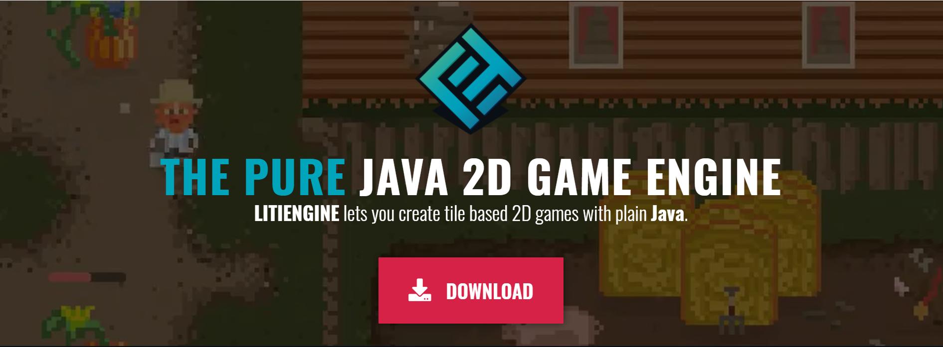纯 Java 2D 游戏引擎 LITIENGINE
