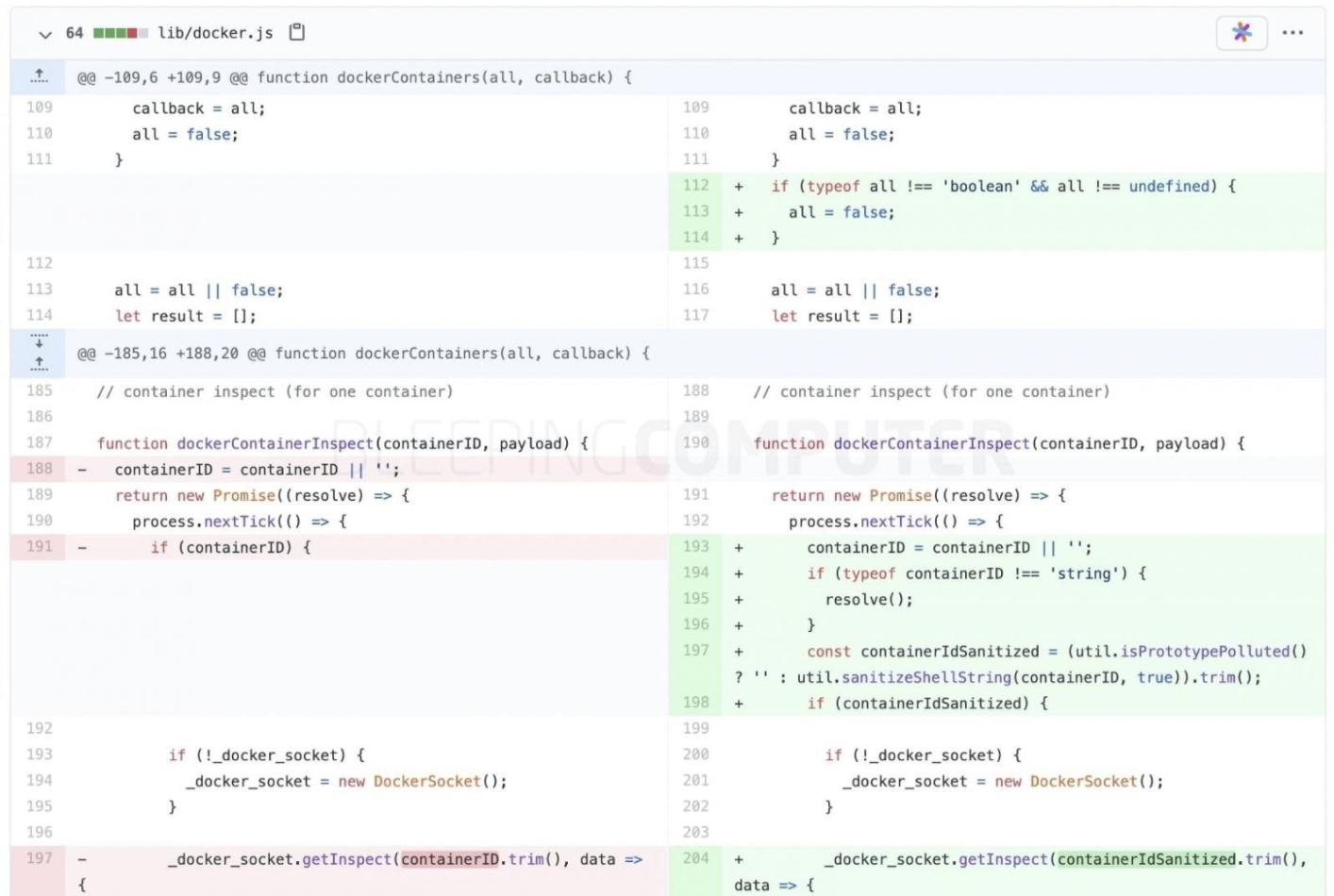 知名 Node.js 组件存在代码注入漏洞