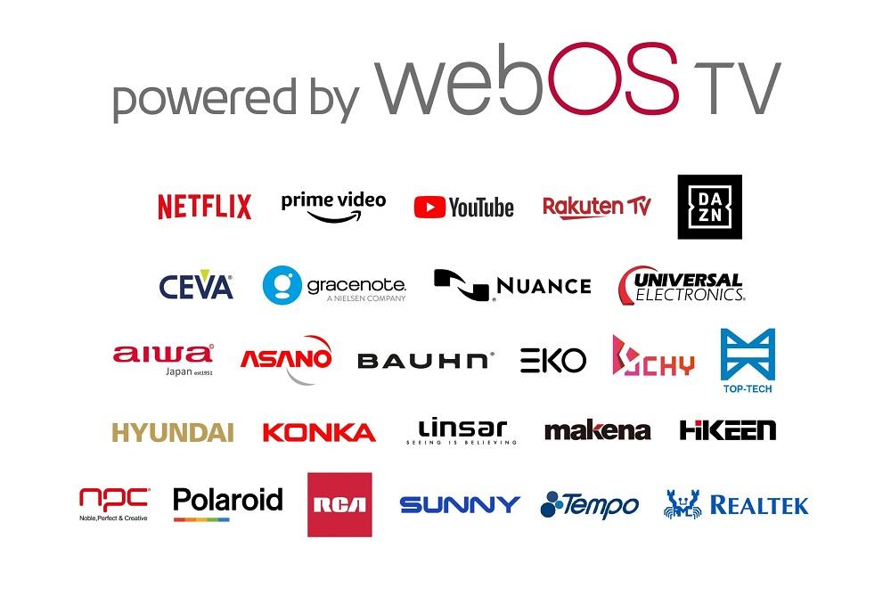 LG 将授权 webOS 给其他电视厂商使用