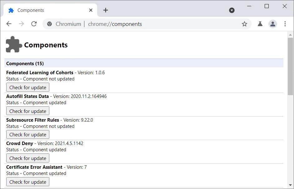 微软在 Edge 浏览器中禁用 Google FLoC