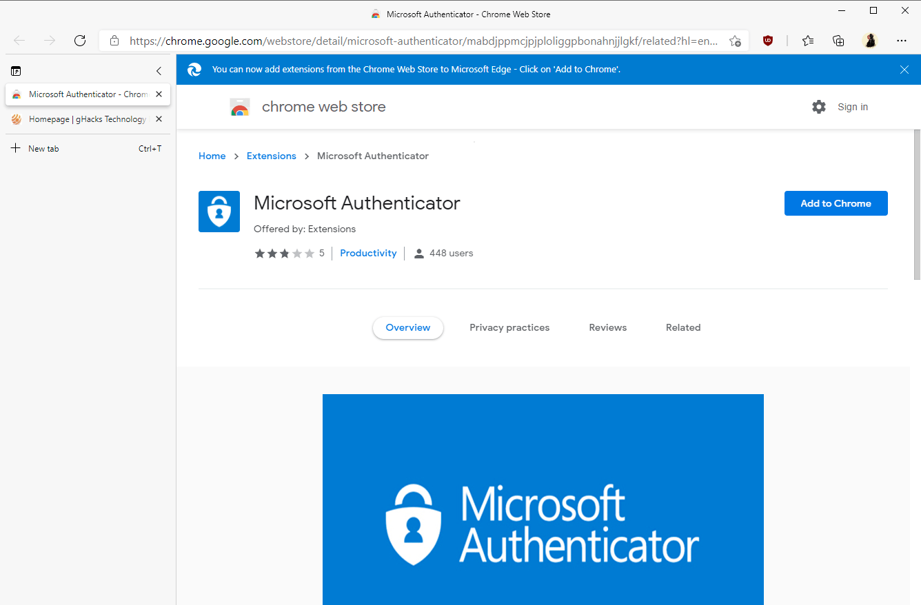 Google 从 Chrome 扩展商店下架虚假的微软验证器