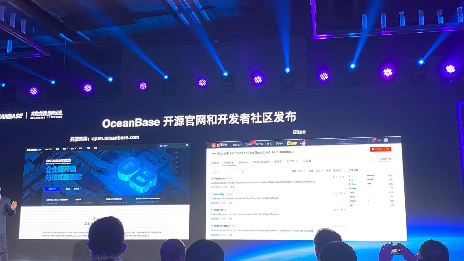 OceanBase 开源,木兰协议、Gitee托管、Open Core