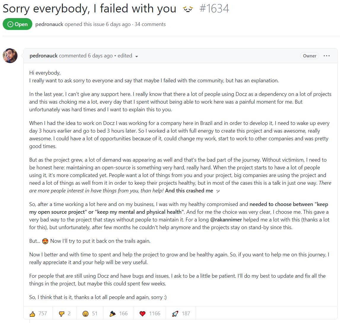 Redis 作者谈如何处理维护开源项目面对的精神压力