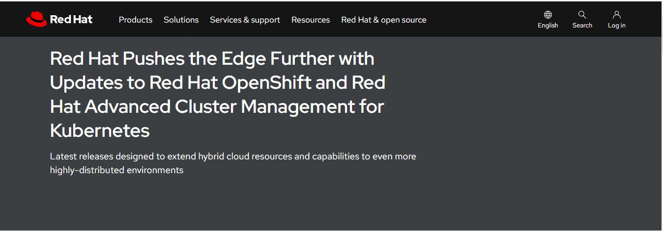 Red Hat 发布 OpenShift 4.9 等工具的最新版本特性