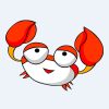 横着走的螃蟹